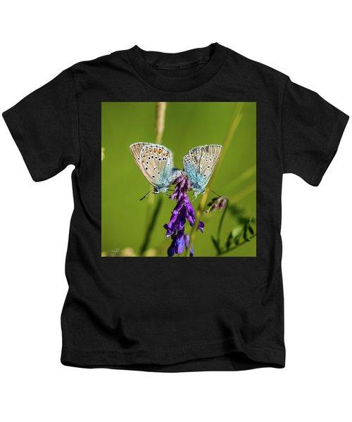 Northern Blue's Mating Kids T-Shirt