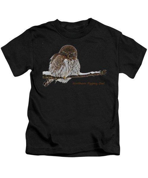 Northern Pygmy Owl 2 Kids T-Shirt