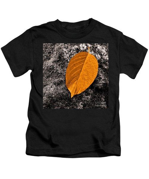 November Leaf Kids T-Shirt