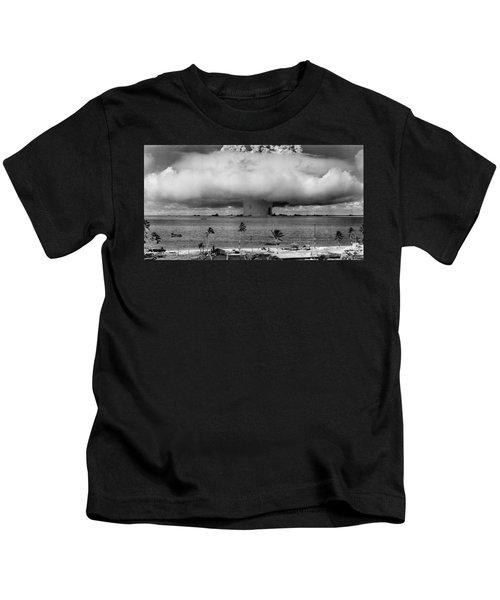 Nuclear Weapon Test - Bikini Atoll Kids T-Shirt