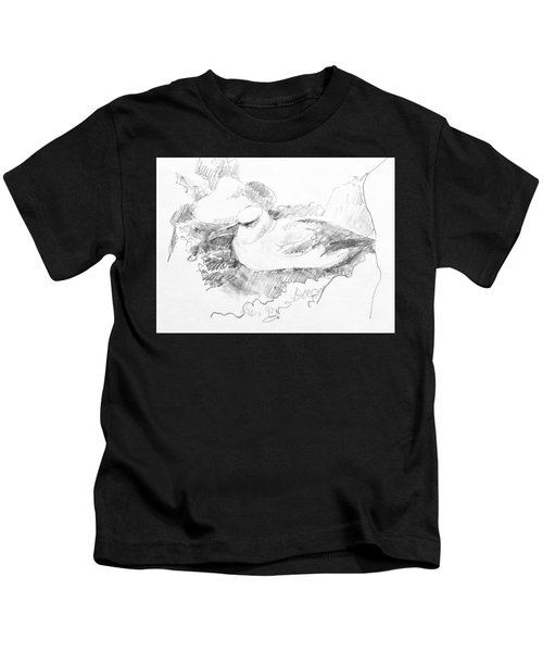 New Zealand White-capped Mollymawk Kids T-Shirt