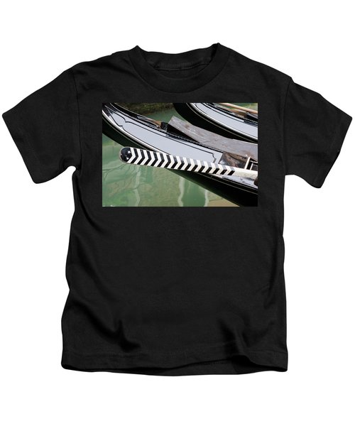 Oar Gondola Venice Kids T-Shirt