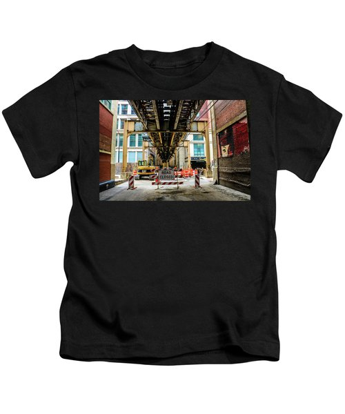Obey The Signs Kids T-Shirt