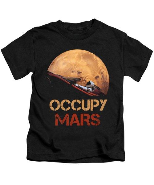 Occupy Mars Kids T-Shirt