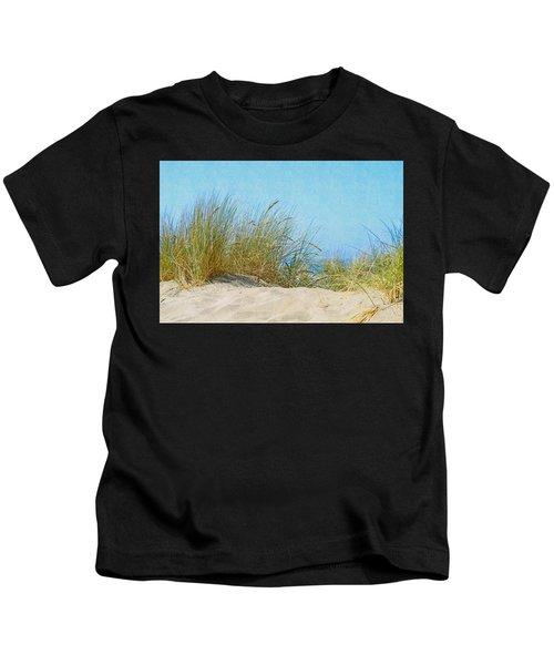 Ocean Beach Dunes Kids T-Shirt