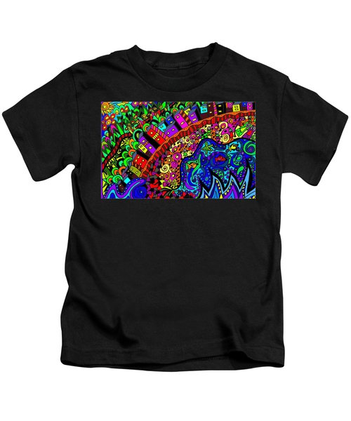 Ocean Meets Hinterland Kids T-Shirt