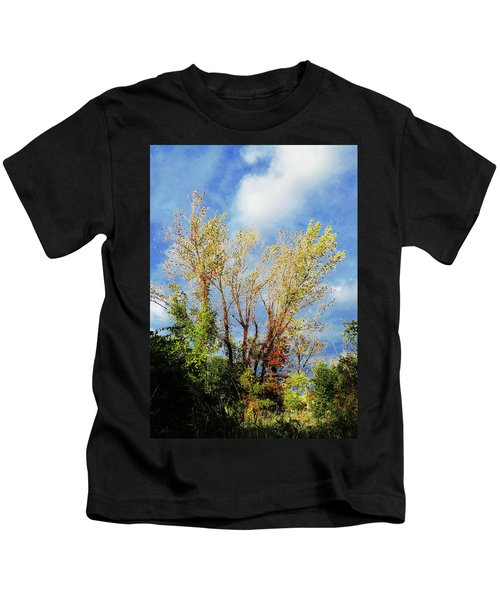 October Sunny Afternoon Kids T-Shirt