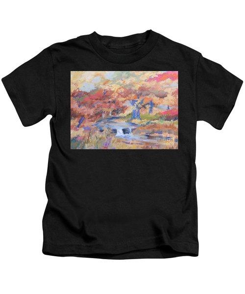 October Walk Kids T-Shirt