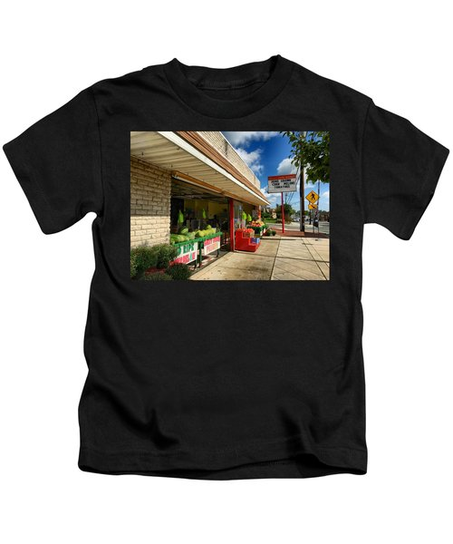 Off To The Market Kids T-Shirt