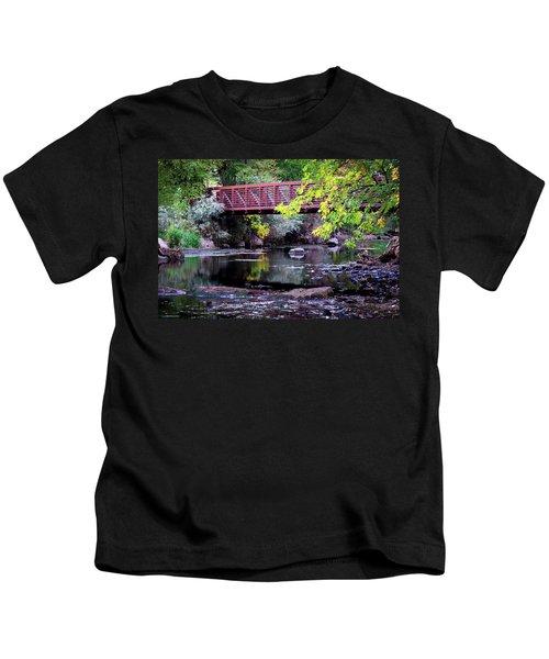 Ogden River Bridge Kids T-Shirt