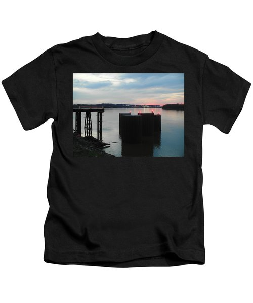 Ohio River View Kids T-Shirt