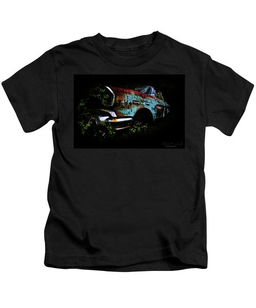 Old Blue Chevy Kids T-Shirt