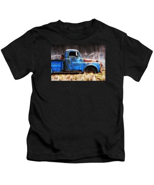 Old Blue Truck Kids T-Shirt
