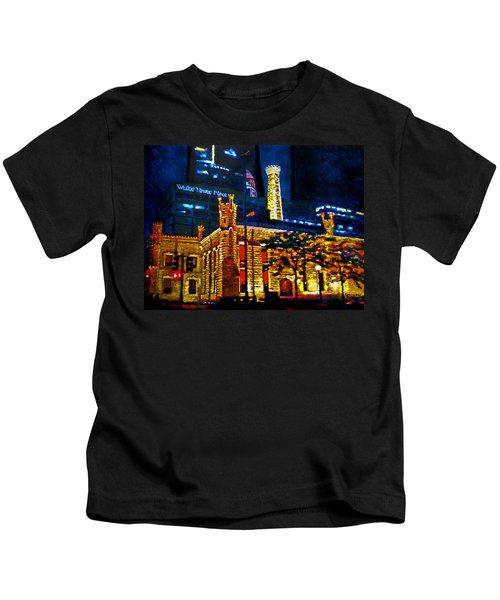 Old Chicago Pumping Station Kids T-Shirt