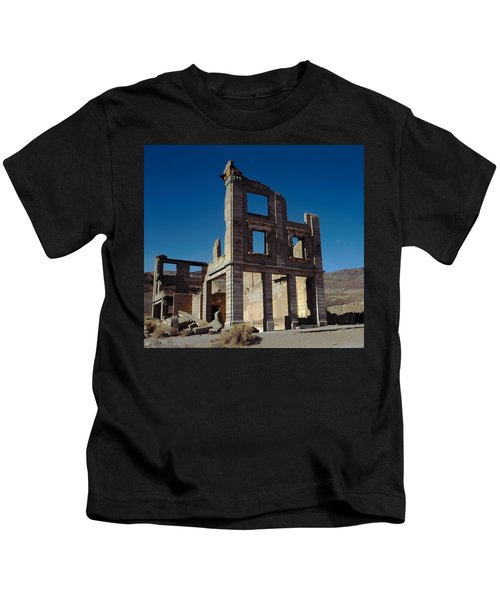 Old Cook Bank Building Kids T-Shirt