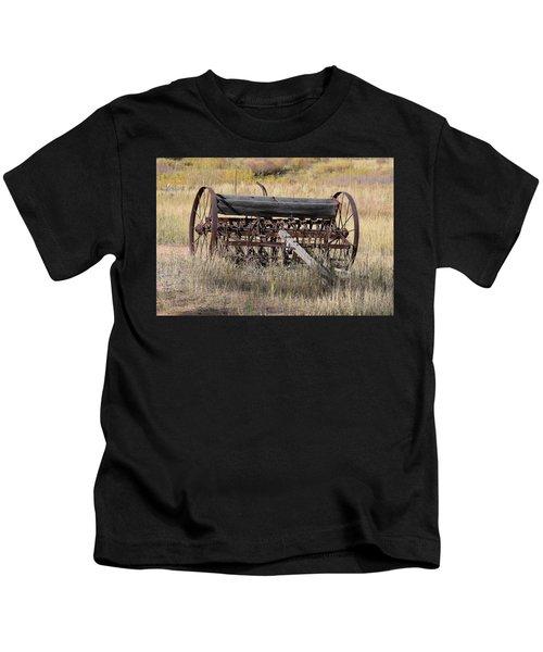 Farm Implament Westcliffe Co Kids T-Shirt
