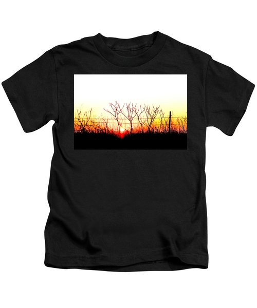 Old Fence Kids T-Shirt