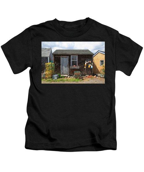 Old Fishing  Houses  Kids T-Shirt