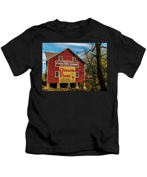 Old Kirby's Flower Mill Kids T-Shirt