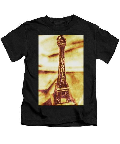 Old Paris Decor Kids T-Shirt