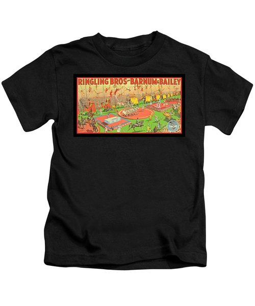 Old Retro Circus Poster Art Kids T-Shirt