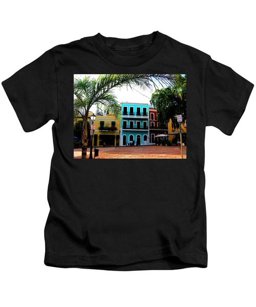 Old San Juan Pr Kids T-Shirt