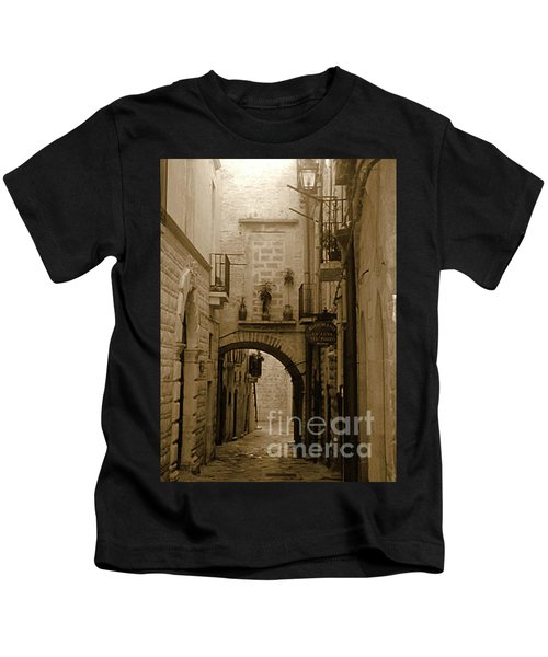 Old Village Street Kids T-Shirt