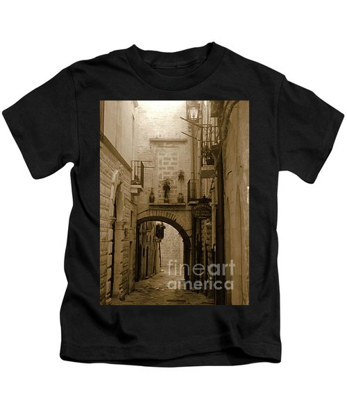 Old Village Street Kids T-Shirt