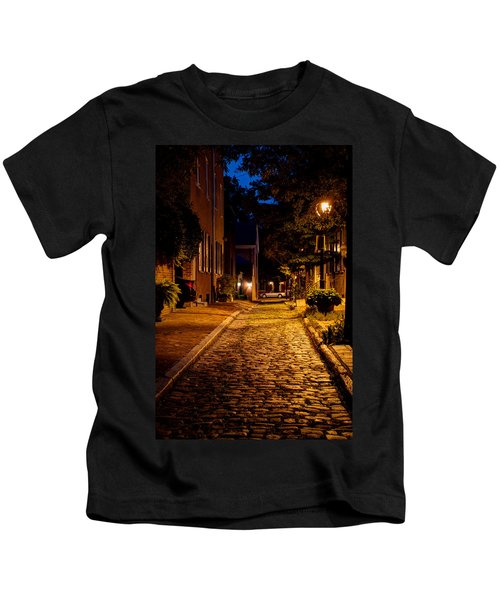 Olde Town Philly Alley Kids T-Shirt