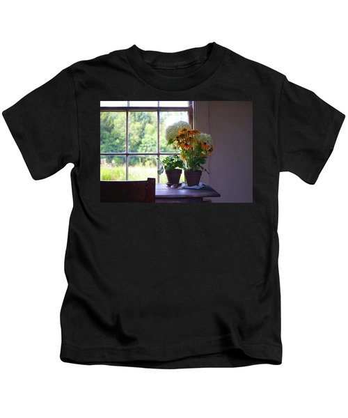 Olson House Flowers On Table Kids T-Shirt