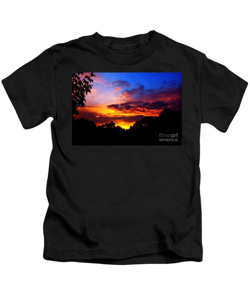 Ominous Sunset Kids T-Shirt