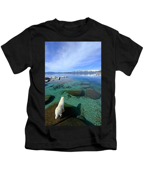 On A Clear Day You Can See Forever Kids T-Shirt