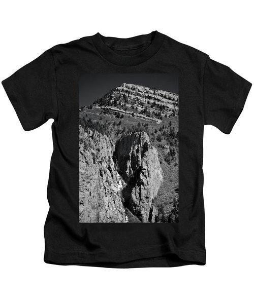 On Sandia Mountain Kids T-Shirt