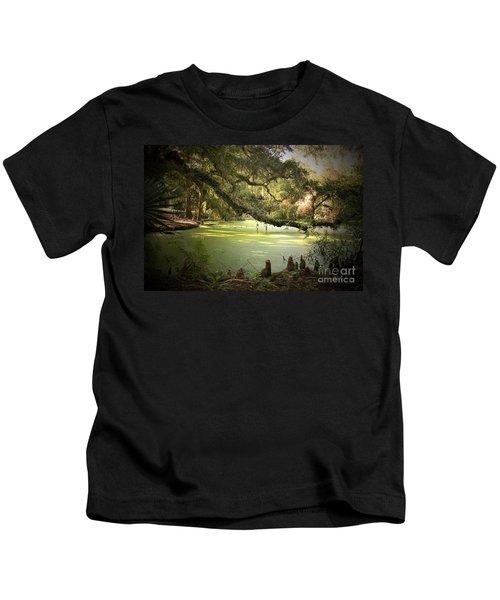 On Swamp's Edge Kids T-Shirt