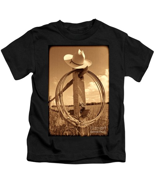 On The American Ranch Kids T-Shirt