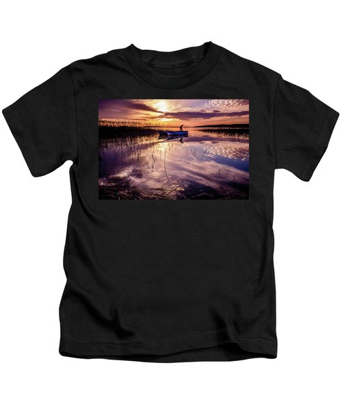 On The Boat Kids T-Shirt