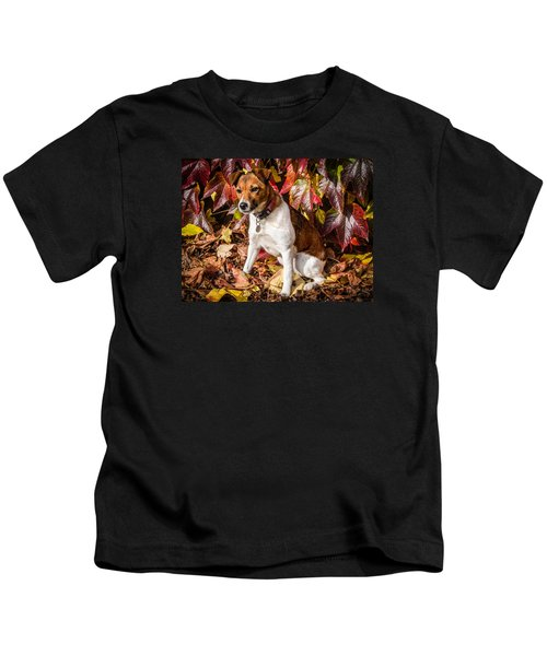 On The Leaves Kids T-Shirt