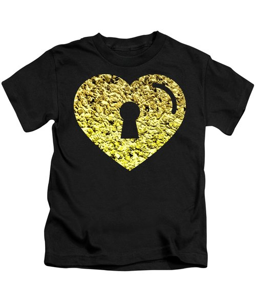 One Heart One Key 2 Kids T-Shirt