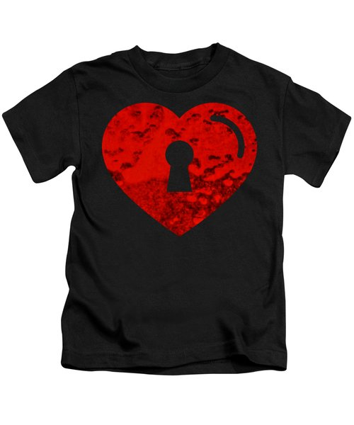 One Heart One Key Kids T-Shirt