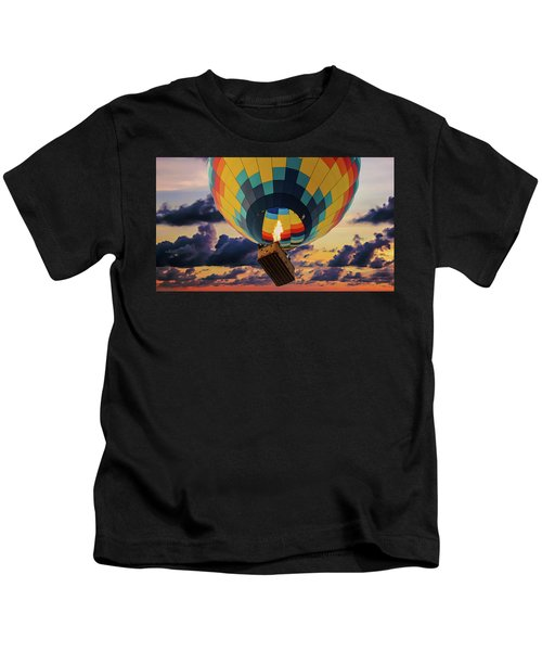 One Morning In Napa Valley Kids T-Shirt