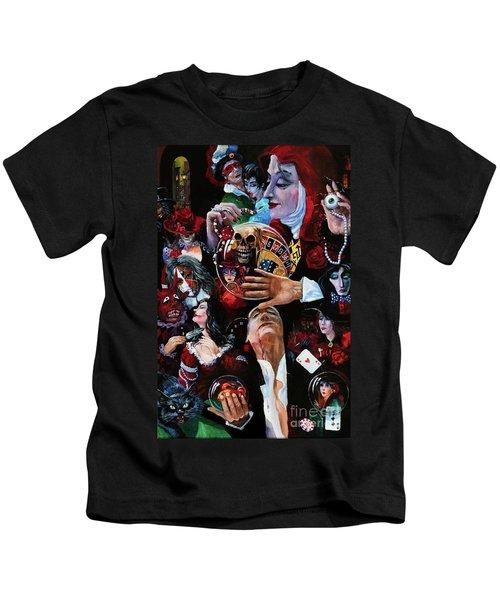 One Night In Paris Kids T-Shirt