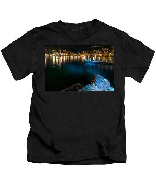One Night In Portofino - Una Notte A Portofino Kids T-Shirt