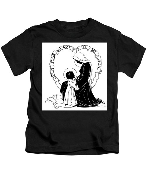 Open Your Heart To My Son - Version 1 - Dpoy1h Kids T-Shirt