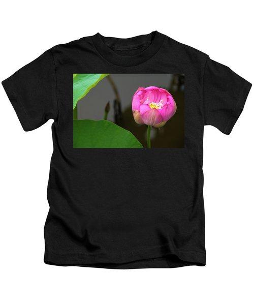 Opening Lotus Lily Kids T-Shirt