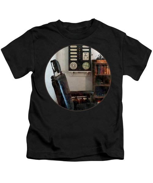 Optometrist - Eye Doctor's Office With Eye Chart Kids T-Shirt