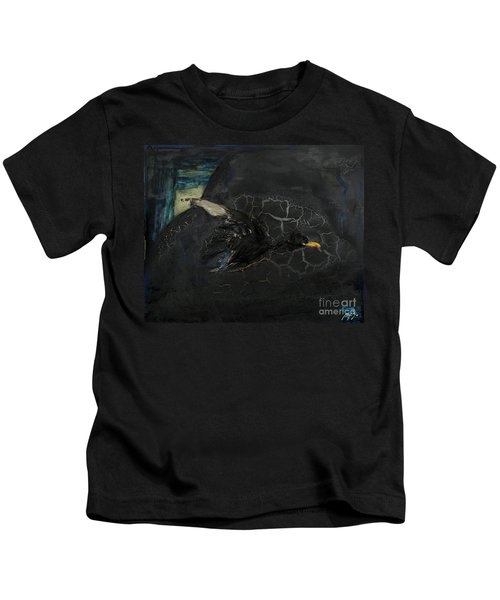 Oracular Inquiry - Ecological Footprint - Drilling Permits - Crude Oil Offshore Energy - Das Orakel Kids T-Shirt