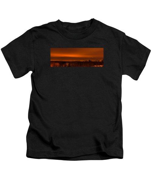 Orange Light Kids T-Shirt