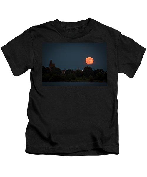 Orange Moon Kids T-Shirt