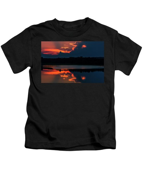 Orange Sky Kids T-Shirt