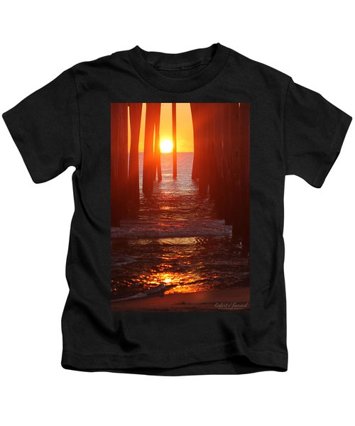 Orb On The Water Kids T-Shirt